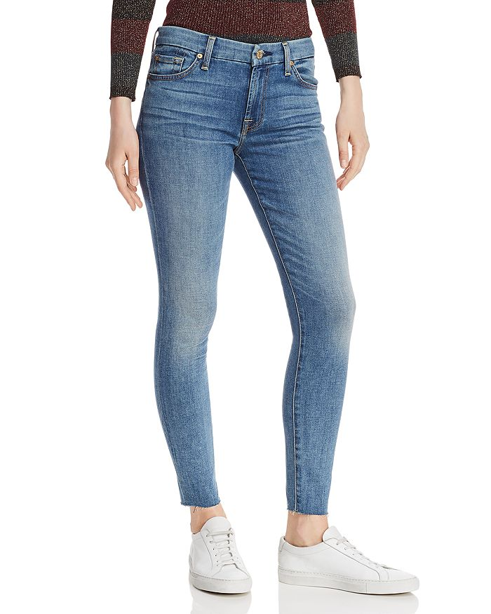7 For All Mankind - Ankle Skinny Jeans in Primm Valley