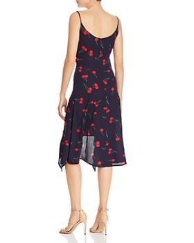 683c37984ea ... AQUA - High Low Cherry Print Midi Dress - 100% Exclusive