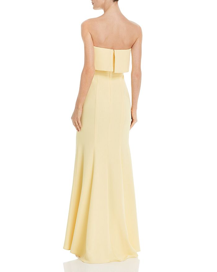 2a2bfd1d0b61 Avery G Strapless Crepe Gown | Bloomingdale's