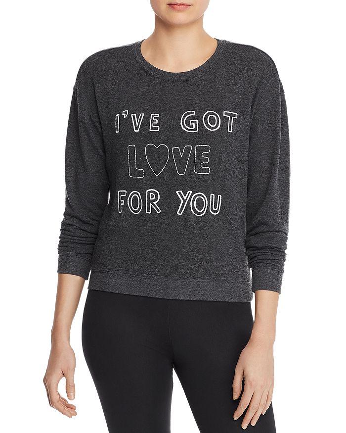 Spiritual Gangster - Got Love Embroidered Sweatshirt