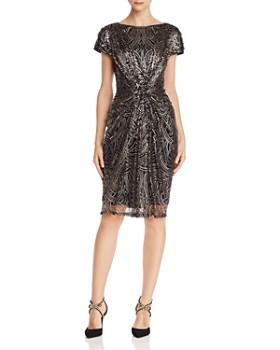 f3ae0bc2 Tadashi Shoji - Ruched Sequined Dress ...