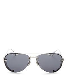 Dior - Men's Chroma Brow Bar Aviator Sunglasses, 60mm