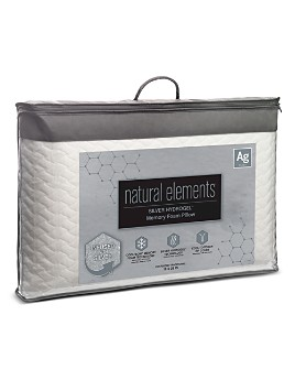 Natural Elements - Silver Hydrogel Foam Pillow, Standard