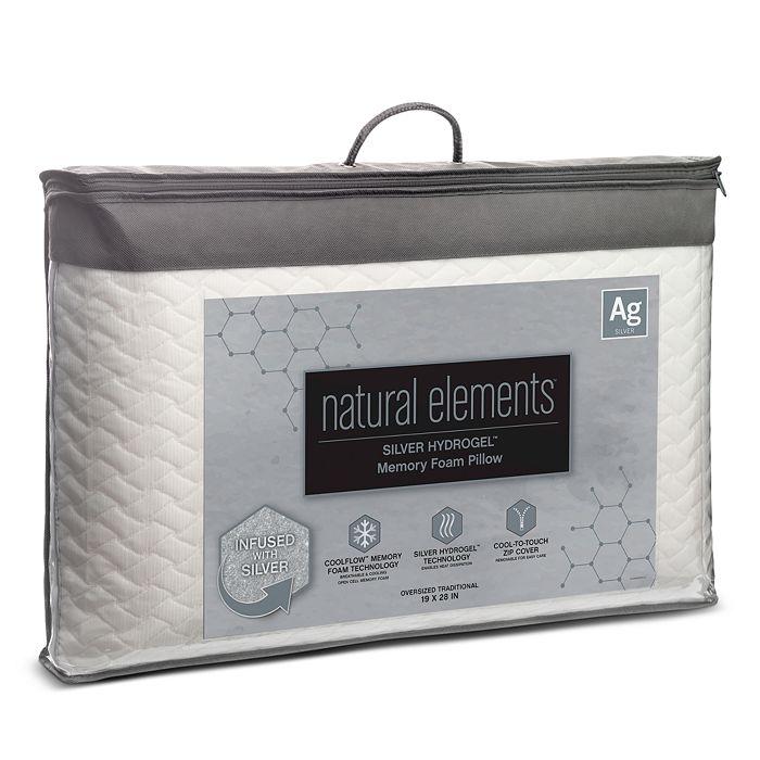 Natural Elements - Silver Hydrogel Foam Pillow, Standard