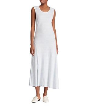 87de9906cb Ralph Lauren - Striped Jersey Midi Dress ...