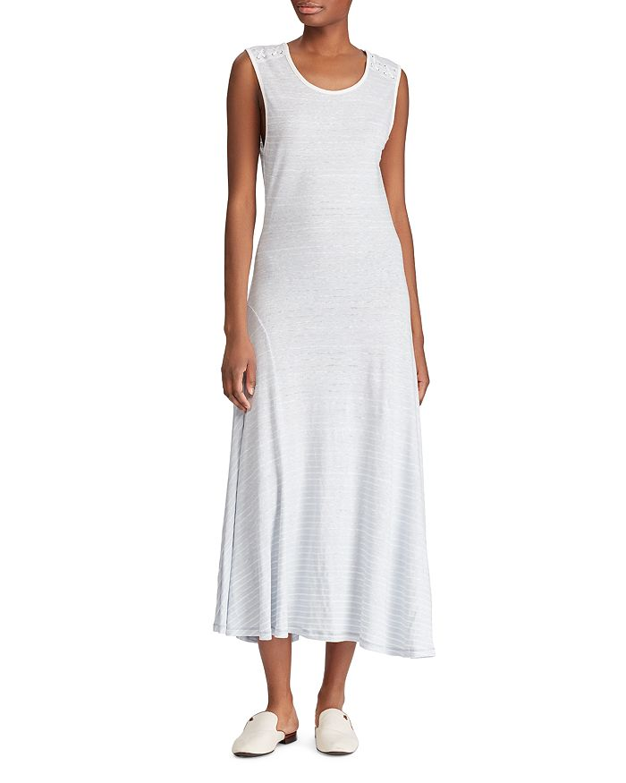 Ralph Lauren - Striped Jersey Midi Dress
