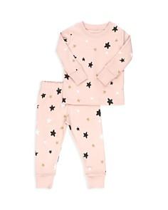 Tun Tun - Girls' Two-Piece Stars Pajama Set - Baby