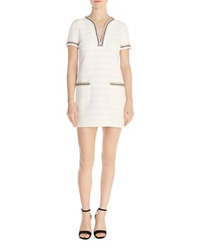 eed4f681519 Sandro - Josepha Braid-Trimmed Tweed Mini Dress ...