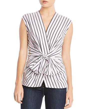 Bailey 44 - Tarte Tie-Front Striped Top