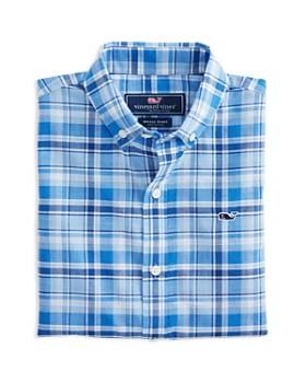 e1d6e653da754 Vineyard Vines - Boys' Beach Tartan-Plaid Dress Shirt - Little Kid, Big ...
