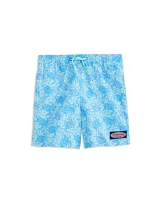 Vineyard Vines - Boys' Sea Turtles Chappy Swim Trunks - Little Kid, Big Kid