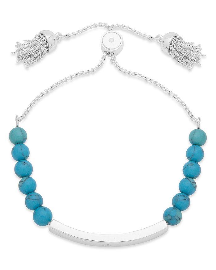 Ralph Lauren - Beaded Tassel Slider Bracelet