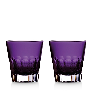 Waterford Icon Amethyst Double Old-Fashioned Glasses, Set of 2-Home