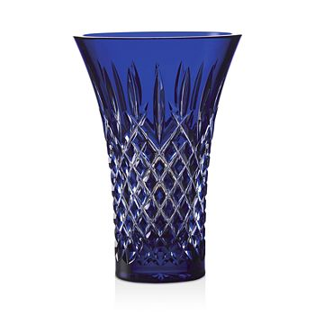 "Waterford - Araglin Cobalt 8"" Flared Vase"