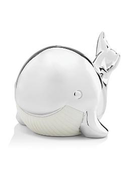 Reed & Barton - Mystic Sea Whale Porcelain Bank