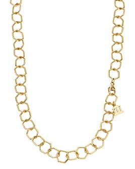 Temple St. Clair - 18K Yellow Gold Small Beehive Chain, 32""
