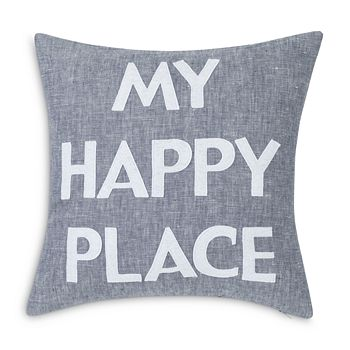 "Alexandra Ferguson - ""My Happy Place"" Decorative Pillow, 16"" x 16"""