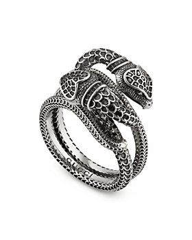 Gucci - Sterling Silver Gucci Garden Snake Ring