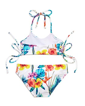 Peixoto - Girls' Oria Floral Print Two-Piece Swimsuit - Little Kid, Big Kid