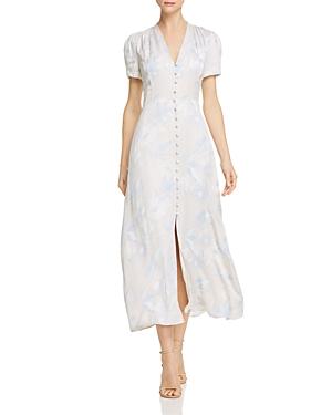 7f781928c6 Equipment Nauman Button-Front Short-Sleeve Linen Dress In Bright White