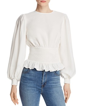 Keepsake - Secure Smocked-Waist Top