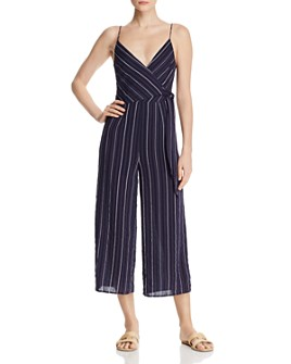 The Fifth Label - Coast Striped Wide-Leg Jumpsuit