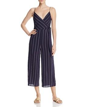 The Fifth Label - Coast Striped Wide-Leg Jumpsuit