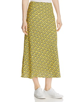 C/MEO Collective - Sanguine Floral Midi Skirt