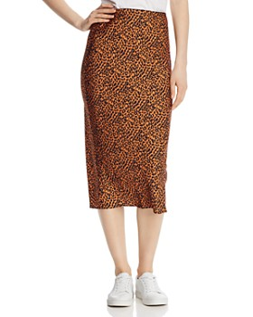 The East Order - Sahara Leopard-Print Midi Skirt