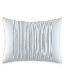 "Vera Wang - Linear Tucks Decorative Pillow, 12"" x 16"""
