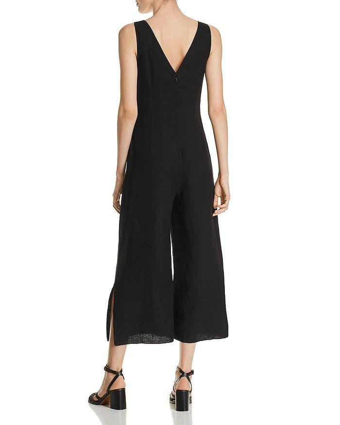 e7db642442 Three Dots - Tie-Front Linen Jumpsuit
