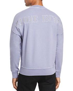 Stone Island - Logo-Embroidered Garment-Dyed Sweatshirt