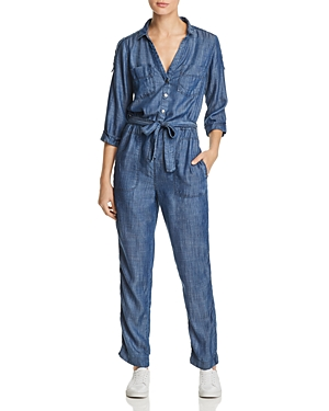 Mkt Studio Oura Chambray Jumpsuit