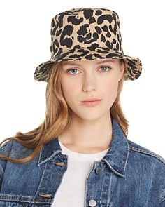 AQUA - Leopard Print Bucket Hat - 100% Exclusive