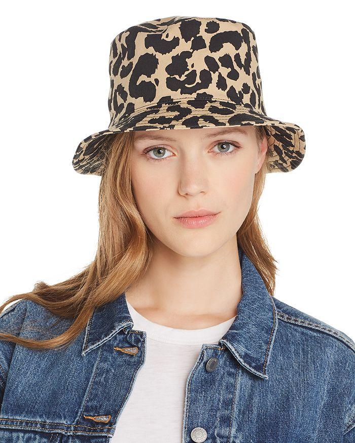 AQUA - Leopard Print Bucket Hat - 100% Exclusive