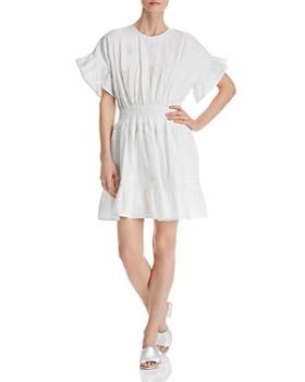 1ff31e6fe6a AQUA - Lace-Inset Flounced Dress - 100% Exclusive ...