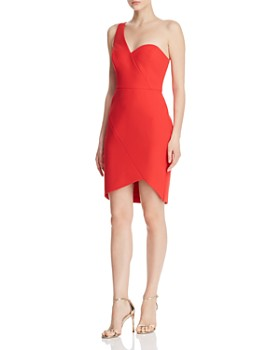 BCBGMAXAZRIA - One-Shoulder Cocktail Dress - 100% Exclusive