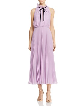 Jill Jill Stuart - Pleated Chiffon Dress