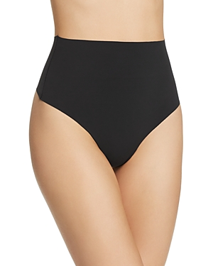 Yummie Tops SMOOTH SOLUTIONS MID-WAIST THONG