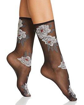 Natori - Clair de Lune Sheer Ankle Socks