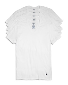 Polo Ralph Lauren - Classic Fit V-Neck Tee - Pack of 5