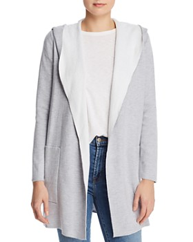 Minnie Rose - Hooded Duster Cardigan