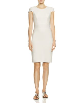 Cap Sleeve Pencil Dress by Halston Heritage