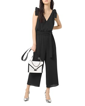 MICHAEL Michael Kors - Tie-Shoulder Jumpsuit