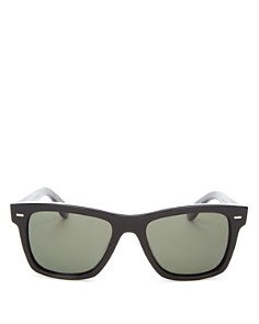 Oliver Peoples - Men's Polarized Oliver Square Sunglasses, 54mm