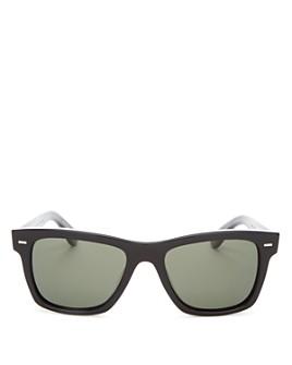 Oliver Peoples - Men's Polarized Oliver Square Sunglasses, 54mm
