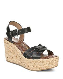 6c7594ee857 Sam Edelman Women's Maura Espadrille Wedge Sandals | Bloomingdale's