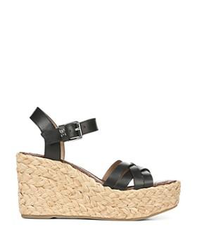 Sam Edelman - Women's Darline Espadrille Wedge Heel Platform Sandals