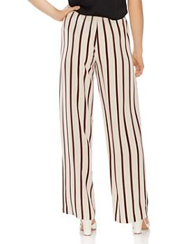 VINCE CAMUTO - Caravan-Stripe Wide-Leg Pants
