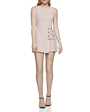 Bcbgeneration Tops LACE-UP OVERLAY ROMPER